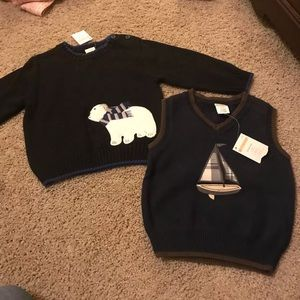 Gymboree boy sweater bundle